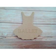 18mm MDF Tutu Dress BALLET
